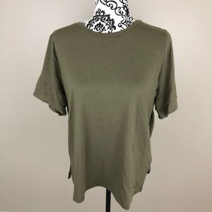 Michae Kors green T-shirt NWT